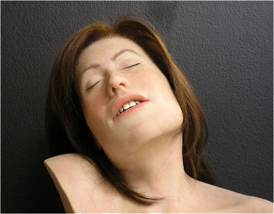 Jill Magid, Head, 2005, forensic reconstruction, sculpture