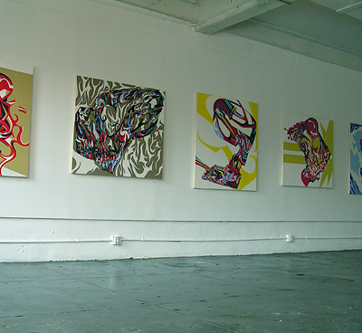 Tim Mutzel, installation view, CVB Space, 2006