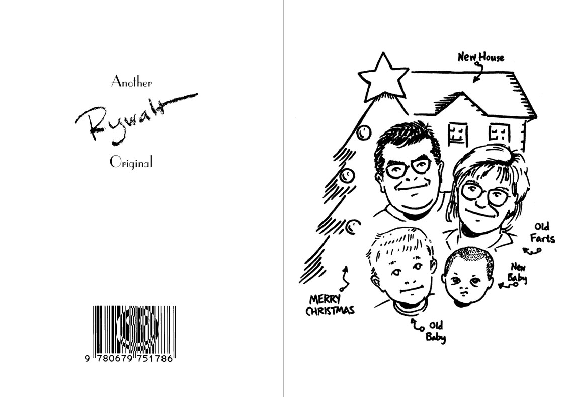 Chris Rywalt, Xmas Card 1998, digital file