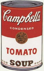Andy Warhol's Campbell's Soup Can, 1962