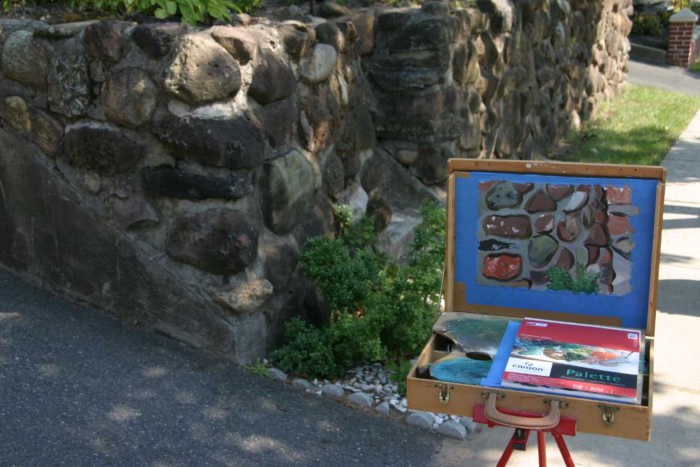 My Plein Air Painting Kit